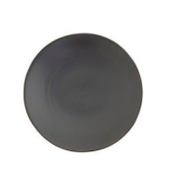Heirloom Charcoal Salad Plate (Black Plate)