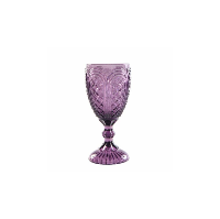Carousel Purple Goblet