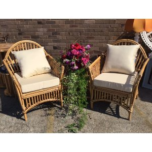 CANE & WICKER SOFAS & ARMCHAIRS