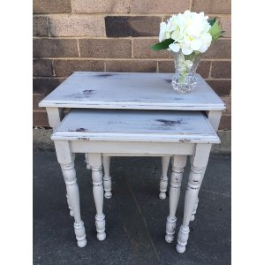 Georgette Nest of 3 Side Tables
