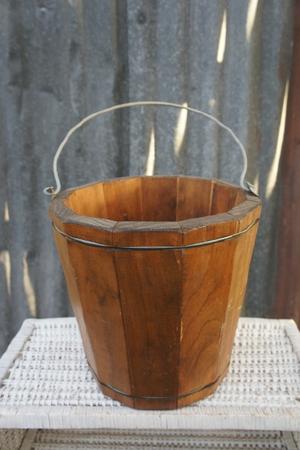 Timber Apple Bucket