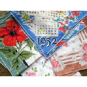 Retro Hankies/Napkins