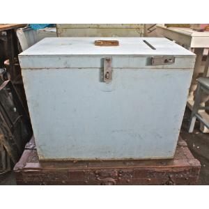 Blue Ballot Box