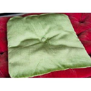 Scotty Green Velvet Cushion
