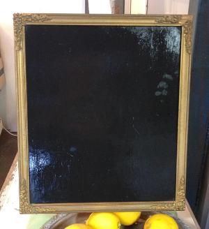 Melinda Gold - Framed Blackboard