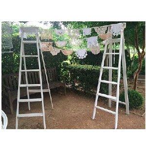Bunting Ladder Arch