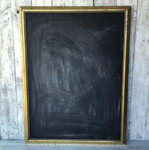 Marcel Large Blackboard Gold Frame