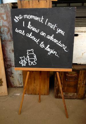 Winnie The Pooh Blackboard