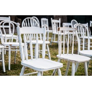 White Eclectic Chairs