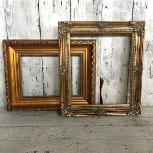 Small Ornate Gold Frame