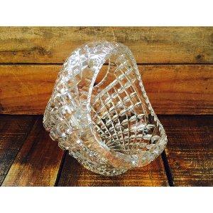 Medium Crystal Handle Vase