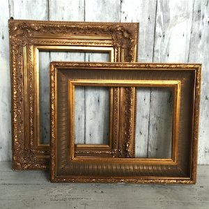Large Gold Ornate Picture Frame