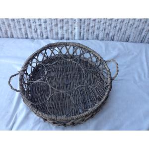 Roberta Wicker Bottle Basket