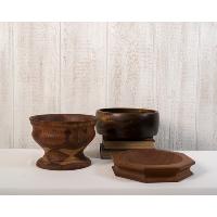 Wood bowls