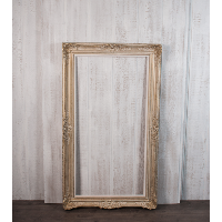 F9 - Gold and white frame