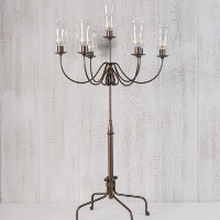 Antique Brass Candelabra