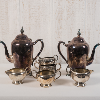 Vintage Silver Tea Pots