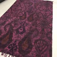 Purple Paisly Carpet