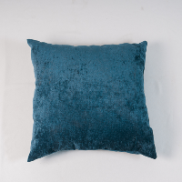 Slate blue pillow