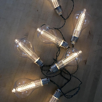 Battery Edison String Lights