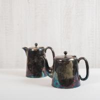 Mod Silver Tea Pots