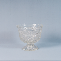 Vintage Glass  Bowl