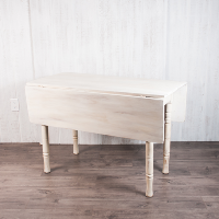 Square White Farm Table