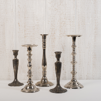 Vintage Silver Candleholders