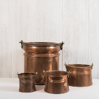 Hammered Copper Pots
