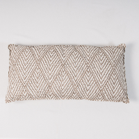 Diamond Mocha pillow