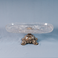 Oval Crystal Stand