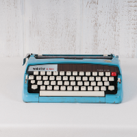 Retro Webster Typewriter