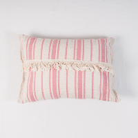 Striped Pink pillow