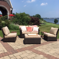 Rattan Patio Set