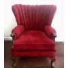 Velvet Chair (Red)