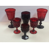 Assorted Red Glasses