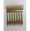 Ornate Gold Dinner Forks