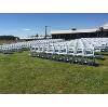Padded Wedding Chair (White)