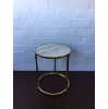 Marble Top Gold Table