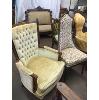 Velvet BB Chair (Gold)