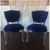 Maxine Velvet Chair (Navy)