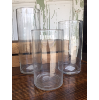 Glass Cylinders (Small, Set of 3)