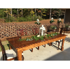 Stained Farm Tables