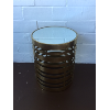 Gold Mirror Topped Table