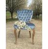 Maxine Velvet Chair (Blue)