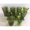 Assorted Green Glasses
