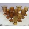 Assorted Amber Glasses