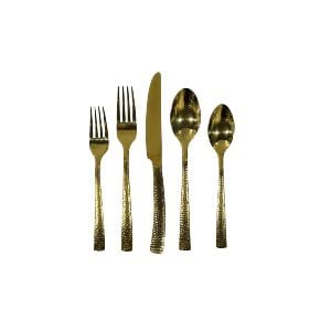 Gold Flatware - Hammered