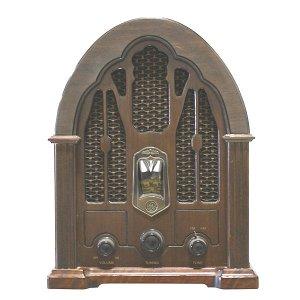 Vintage GE Cathedral Radio
