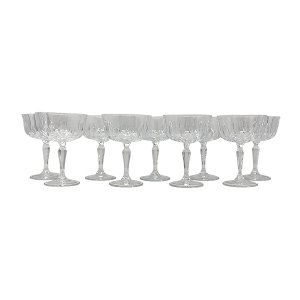 Italian Crystal Champagne Coupe Collection
